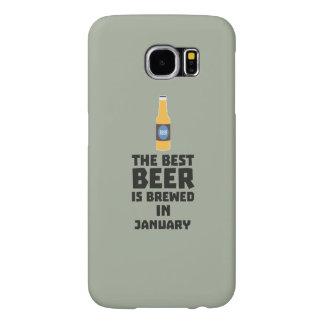 Capa Para Samsung Galaxy S6 A melhor cerveja é em maio Z96o7 fabricado cerveja