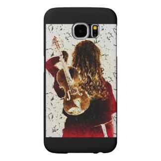 Capa Para Samsung Galaxy S6 A música do instrumento do violino do violino da