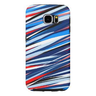 Capa Para Samsung Galaxy S6 AbstractLines