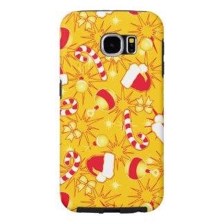 Capa Para Samsung Galaxy S6 Amarelo - o boné do papai noel