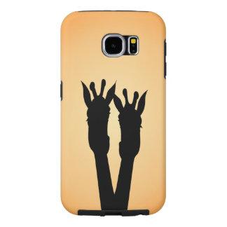 Capa Para Samsung Galaxy S6 Amor do girafa