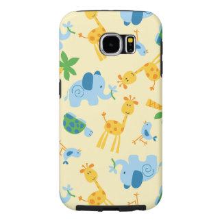 Capa Para Samsung Galaxy S6 Animais selvagens