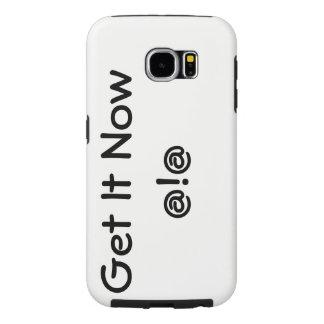 Capa Para Samsung Galaxy S6 Apenas obtenha-o