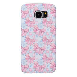 Capa Para Samsung Galaxy S6 Arco cor-de-rosa