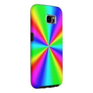 Capa Para Samsung Galaxy S6 Arco-íris brilhante colorido