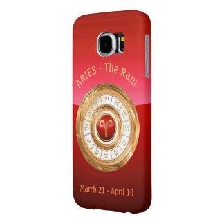 Capa Para Samsung Galaxy S6 Aries - o sinal do zodíaco da ram