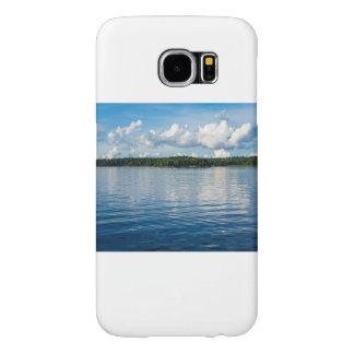 Capa Para Samsung Galaxy S6 Arquipélago na costa de mar Báltico na suecia