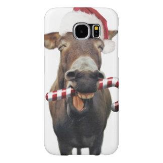 Capa Para Samsung Galaxy S6 Asno do Natal - asno do papai noel - papai noel do