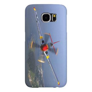 Capa Para Samsung Galaxy S6 Aviões de lutador do mustang P-51