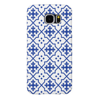 Capa Para Samsung Galaxy S6 Azul marroquino