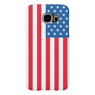 Capa Para Samsung Galaxy S6 Bandeira dos Estados Unidos da bandeira dos EUA