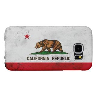 Capa Para Samsung Galaxy S6 Bandeira patriótica do estado de Califórnia do