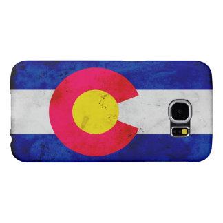 Capa Para Samsung Galaxy S6 Bandeira patriótica do estado de Colorado do