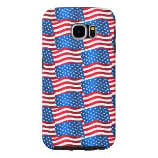 Capa Para Samsung Galaxy S6 Bandeiras dos EUA