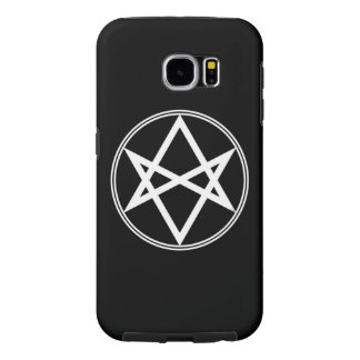 Capa Para Samsung Galaxy S6 Branco Unicursal do Hexagram de Falln