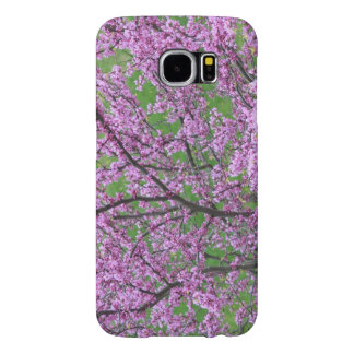 Capa Para Samsung Galaxy S6 Brotamento floral cor-de-rosa da árvore