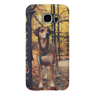 Capa Para Samsung Galaxy S6 Caixa da galáxia S6 de Samsung com foto de um cão