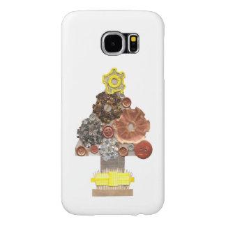 Capa Para Samsung Galaxy S6 Caixa da galáxia S6 de Samsung da árvore de Natal