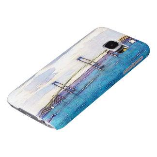Capa Para Samsung Galaxy S6 Caixa da galáxia S6 de Samsung da ponte de Newport