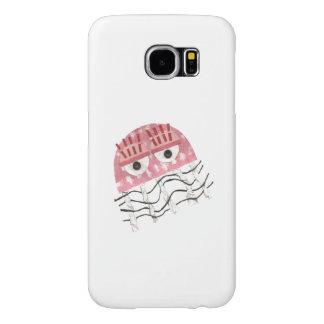 Capa Para Samsung Galaxy S6 Caixa da galáxia S6 de Samsung do pente das medusa