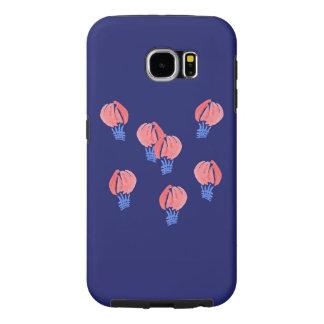 Capa Para Samsung Galaxy S6 Caixa da galáxia S6 de Samsung dos balões de ar