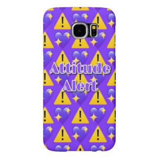 Capa Para Samsung Galaxy S6 Caixa (roxa) alerta da galáxia S6 de Samsung da