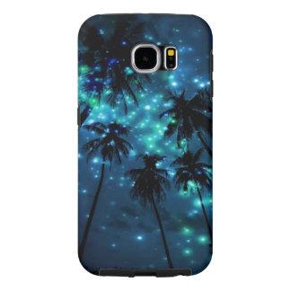 Capa Para Samsung Galaxy S6 Caixa tropical da galáxia S6 de Samsung do paraíso
