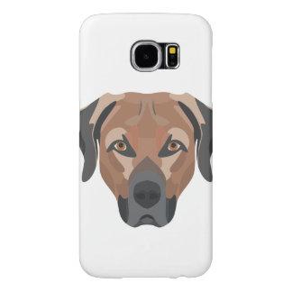 Capa Para Samsung Galaxy S6 Cão Brown Labrador da ilustração