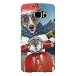 Capa Para Samsung Galaxy S6 Cão do patinete, jaque russell