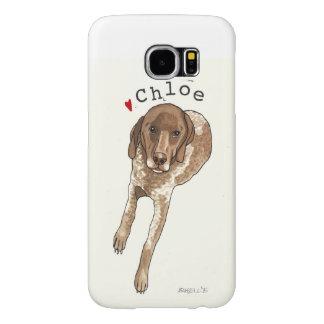 Capa Para Samsung Galaxy S6 Caso 6 da pilha de Chloe