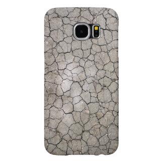 Capa Para Samsung Galaxy S6 Caso com uma estrutura do solo secado