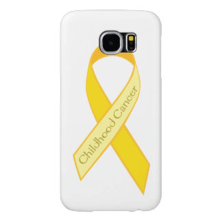 Capa Para Samsung Galaxy S6 Caso da consciência do cancer da infância de