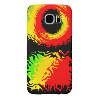 Capa Para Samsung Galaxy S6 Caso da cor de Rasta