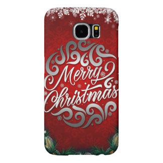Capa Para Samsung Galaxy S6 Caso do Natal da galáxia S6 de Samsung