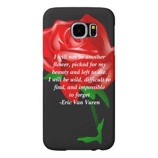 Capa Para Samsung Galaxy S6 Caso eletrônico das citações