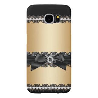 Capa Para Samsung Galaxy S6 Caso feminino do brilho do jewell