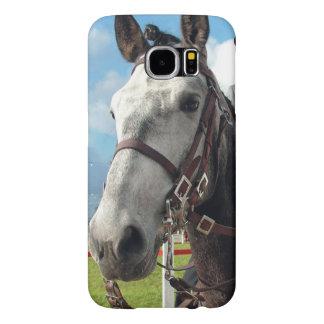 Capa Para Samsung Galaxy S6 Cavalo puro da raça