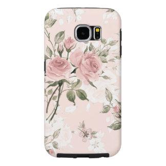 Capa Para Samsung Galaxy S6 Chique, chique francês, vintage, floral, rústico,