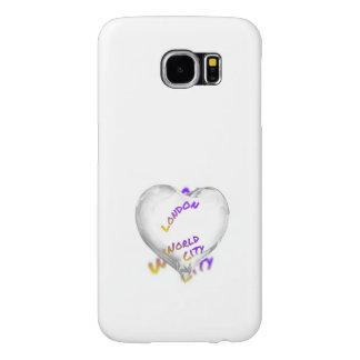 Capa Para Samsung Galaxy S6 Cidade do mundo de Londres, coração da água