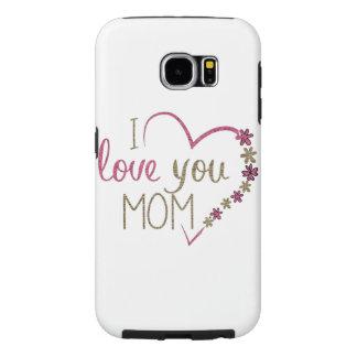 Capa Para Samsung Galaxy S6 Coração do dia das mães da mamã do amor