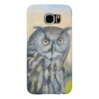 Capa Para Samsung Galaxy S6 Coruja de Eagle