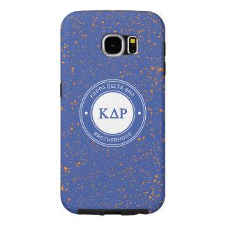 Capa Para Samsung Galaxy S6 Crachá do ró | do delta do Kappa