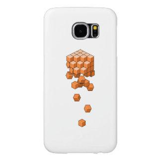 Capa Para Samsung Galaxy S6 Cubos de queda