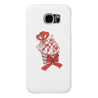 Capa Para Samsung Galaxy S6 Cupcake dos namorados