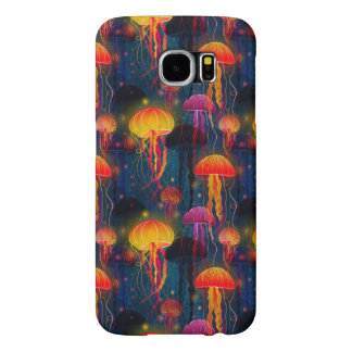Capa Para Samsung Galaxy S6 Dança das medusa