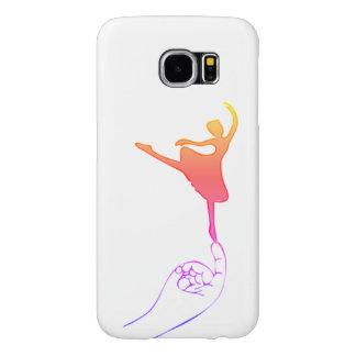 Capa Para Samsung Galaxy S6 Dançarino minúsculo