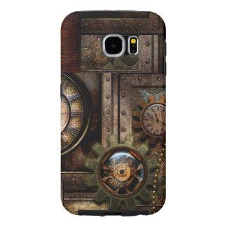 Capa Para Samsung Galaxy S6 Design maravilhoso do steampunk