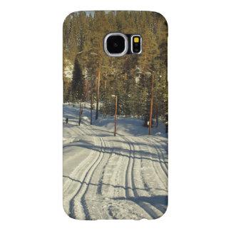 Capa Para Samsung Galaxy S6 Dia de inverno na suecia