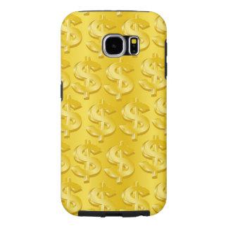 Capa Para Samsung Galaxy S6 $ do ouro $
