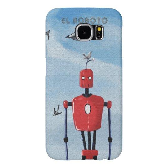 Capa Para Samsung Galaxy S6 El Roboto